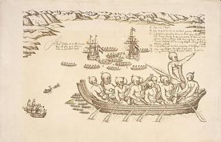 Early Drawing of the Maori