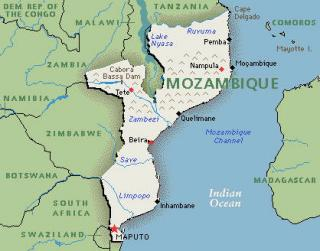 Map Of Maozambique