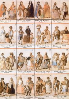 Spanish Cast Painting