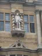 Statue Of Cecil John Rhodes Oxford Eng