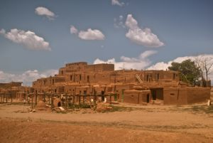 Taos Pueblo- North Pueblo - the oldest continuous inhabited city in the USA